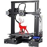 【Creality 3D】 Ender-3 3Dプリンター 半成品DIY キット 超高精度印刷 停電回復機能 MK-8押出機 最大印刷サイズ 220 * 220 * 250mm 日本語組立取扱説明書対応