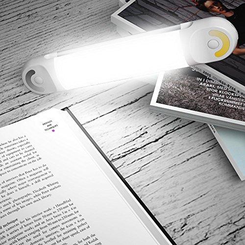 Signcomplex LEDライト充電式 usbライト 磁石付 懐中電灯 読書灯 作業灯 モバイルバッテリー5000mAh LED 自転車 ライト 充電 防水 色温度調節 多機能 キャンプ/夜釣り/登山/車中泊/機械修理/防災用にも適用