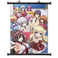 My Mental Choices are Completely Interfering with my School Romantic Comedy ( NouCome )アニメファブリック壁スクロールポスター( 16 x 23 )インチ。[ WP ] My Mental choices-1