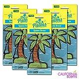 カリフォルニアセンツ パームツリー エアフレッシュナー 5枚セット 【ラグナブリーズ】CALIFORNIA SCENTS Palms Hang Out Air Fresheners【LAGUNA BREEZE】 芳香剤