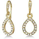 Mestige Jewellery Gold Harley Earrings with Swarovski® Crystals, Gifts Women Girls, Bridal Drop Dangle