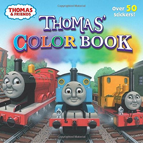 Thomas' Color Book (Thomas & Friends) (Pictureback(R))