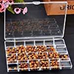 LASPERAL Multifunctional 24Grids Transpat Acrylic Earrings Ring Jewelry Box Storage Boxes Craft Jewelry Organizer...