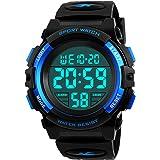 Kids Digital Watch, Boys Sports Waterproof Led Watches With Alarm Wrist Watches For Boy Girls Children