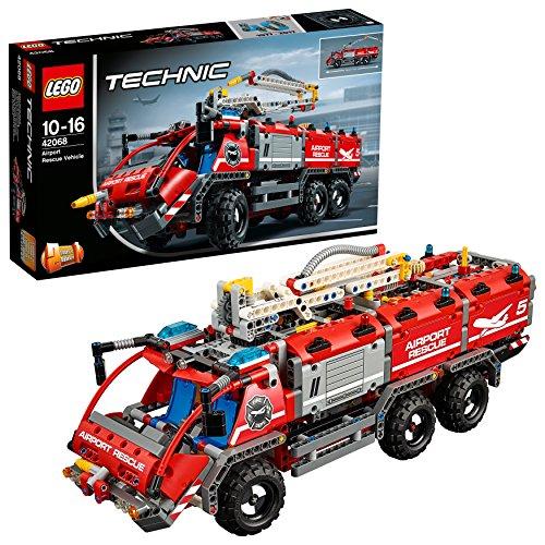 レゴ(LEGO)テクニック 空港用火災救助車 42068