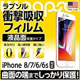 Wrapsol(ラプソル)ULTRA(ウルトラ)衝撃吸収フィルム 液晶面 保護 iPhone 8/iPhone 7/iPhone 6/6s対応 (WPIP8N-FT)