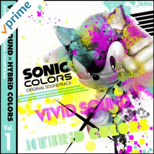 SONIC COLORS ORIGINAL SOUNDTRACKViViD SOUND × HYBRiD COLORS Vol. 1