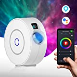 Star Light Galaxy Projector for Bedroom | Alexa, Google Assistant, App Controlled, Adjustable Brightness, 16.7m Color Options