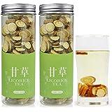 甘草片 甘草茶300g(150g*2) カンゾウ 花茶 茶葉 中国茶 健康茶 漢方 養生茶 料理の甘味料として