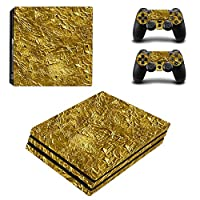 Zhhlinyuan スキンステッカー Vinyl Decal Cover for PlayStatio PS4 Pro Console+Controllers ZY0010#