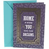 Hallmark New Home Congratulations Greeting Card (Lettering in Frame)