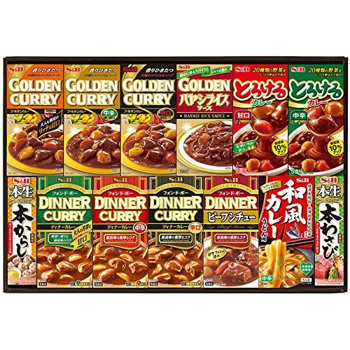 エスビー バラエティギフト BU−30 15627 【レトルトカレー 調味料 詰め合わせ つめあわせ 日本産 国産 お取り寄せ グルメ おいしい 美味しい うまい】