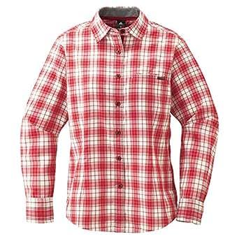 (モンベル)mont-bell WIC.ライト シングルポケット ロングスリーブシャツ Women's 1104946 RD レッド L