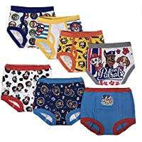 Nickelodeon Boys TBUP3734 Paw Patrol Boys 3pk Training Pants & 4pk Briefs Underwear - Multi