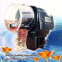 zmart 自動給餌機 デジタル液晶 水槽 熱帯魚 フィーダー タイマー オリジナル日本語説明書つき [並行輸入品]