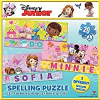 Junior 3 Pack 20 Piece Smart Puzzles - Spell My Name [並行輸入品]