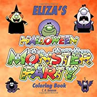 Eliza's Halloween Monster Party Coloring Book