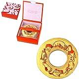 猫 バームクーヘン バウムクーヘン 動物 イラスト お菓子 1個 ギフト箱入り赤色(レッド)の箱