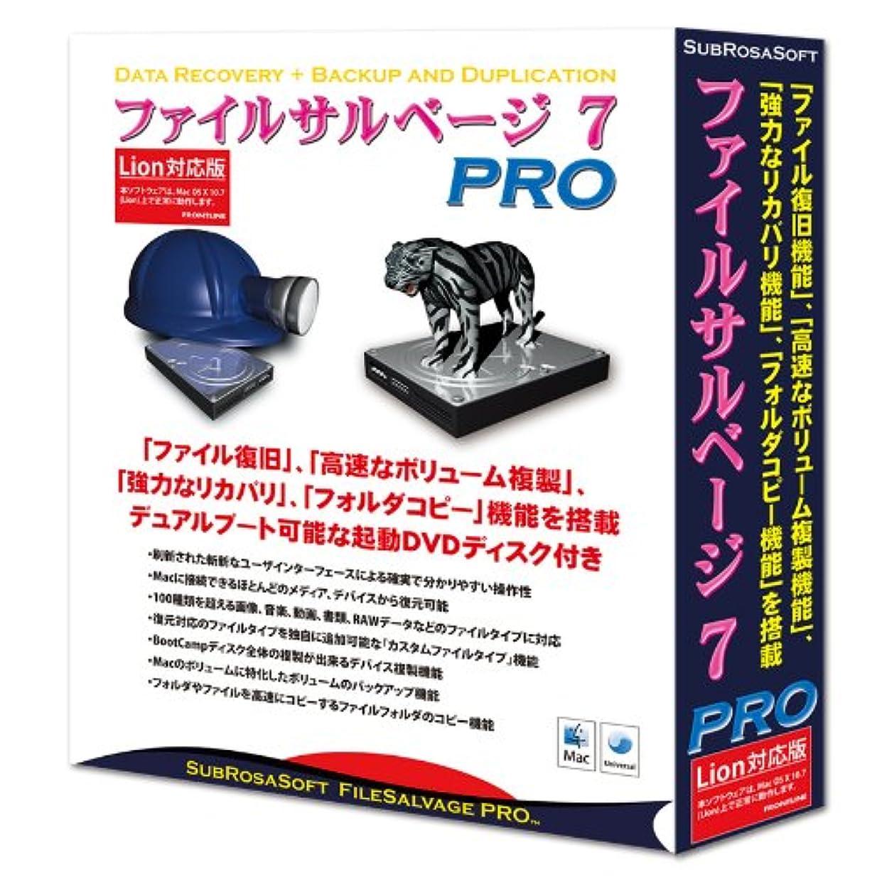 文言ファイター堀ファイルサルベージ 7 PRO Lion対応版