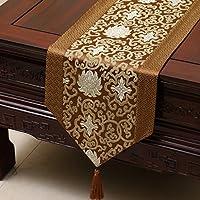 テーブルランナーモダンシンプルスタイルクラシカルレトロコーヒーテーブルクロス刺繍テーブルランナー