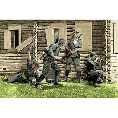 1/35 ドイツ軍歩兵 バルバロッサ1941 (4体セット)