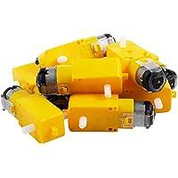 ACAMPTAR 10ピース、スマート車用Ttモーター 起動スマート車の減速モーター、Arduino用