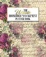 The Ultimate Household Management Planner Book: Honey Bee Epherma | Home Tracker | Family Record | Calendar | Contacts | Password | School | Medical Dental Babysitter | Goals Financial Budget Expense