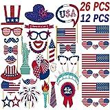 7月4日写真ブース小道具Patrioticパーティー小道具American Independence Dayパーティーデコレーション