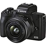 Canon EOS M50 mk II Mirrorless Digital Camera Kit with EF-M 15-45mm IS STM Lens