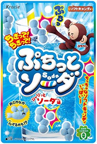 ぷちっとソーダ(シャリッとソーダ味) 10個入 食玩・知育菓子