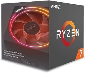 AMD CPU Ryzen 7 2700X with Wraith Prism cooler YD270XBGAFBOX