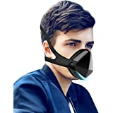 DUST ELECTRIC SMART MASK, Dust Mask,Air Purifier,Reusable Face Mask With Fan And 2 HEPA Filters,For Adult Masks With Pollen D