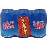 Wang Lao Ji Canned Herbal Tea 310ml (Pack of 6)
