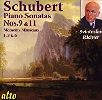 Schubert: Piano Sonatas Nos. 9 & 11; Moments Musicaux (selected) by Sviatoslav Richter (2011-06-14)