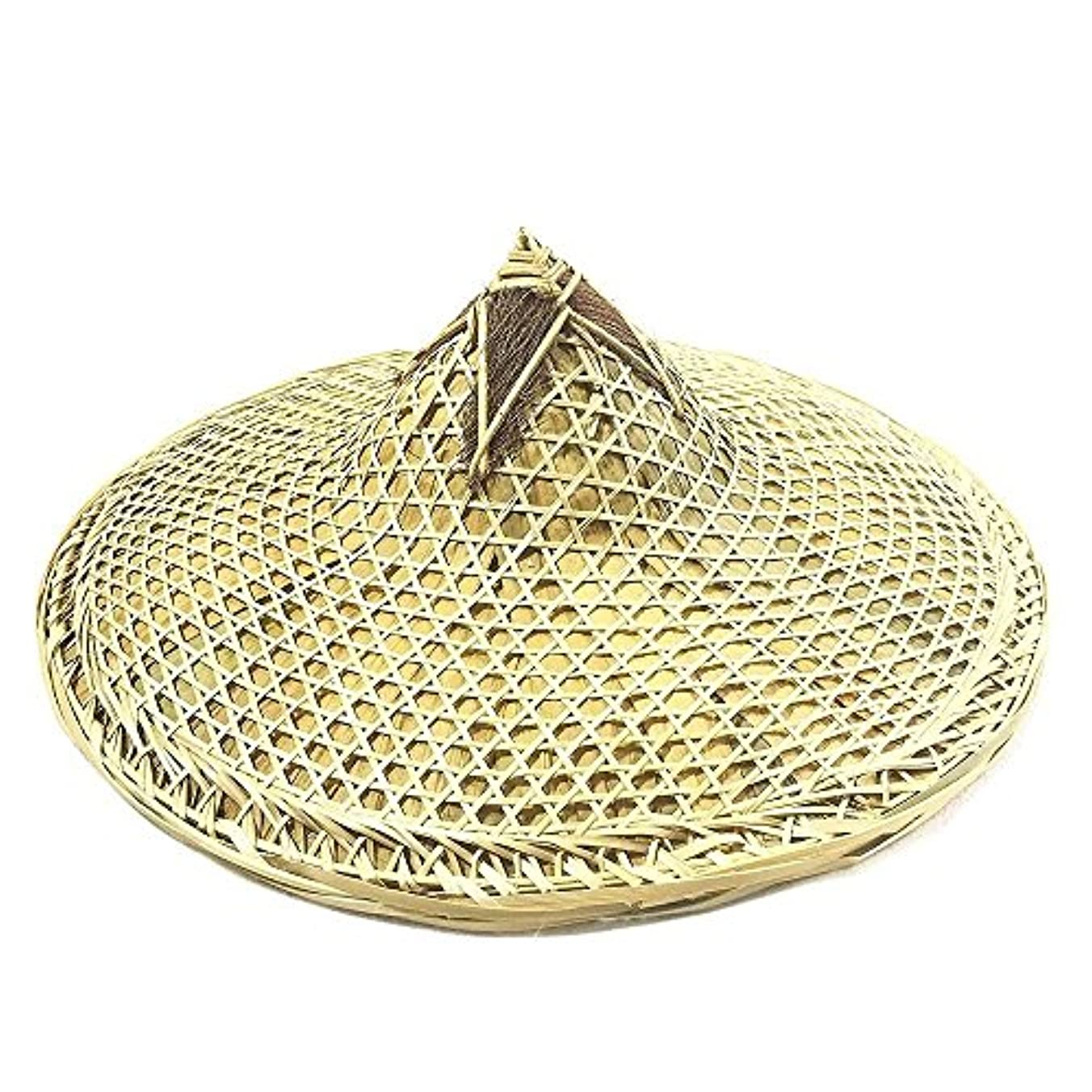 平行地中海スプレーysmywm中国手作り天然竹三つ編み帽子釣り帽子