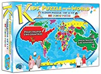 Kids' Puzzle of the World (80 Piece) by A Broader View