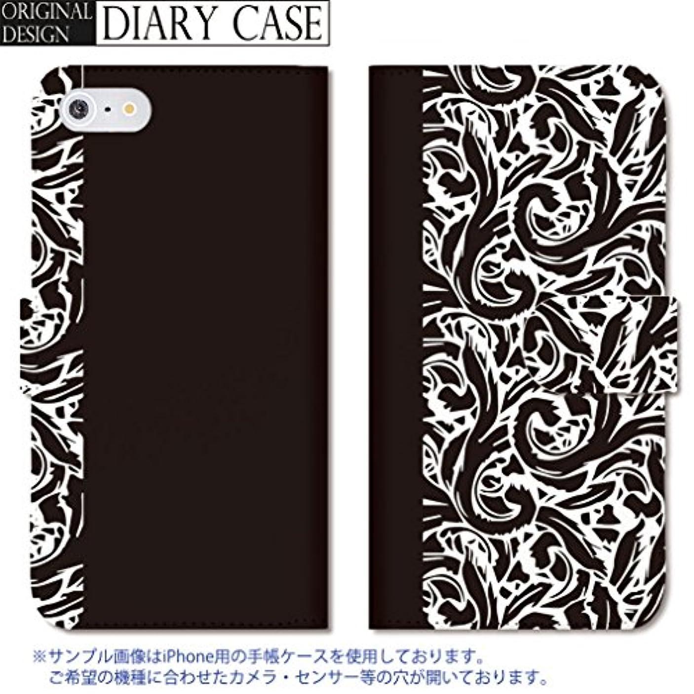 アラバマタクシーおなかがすいた301-sanmaruichi- Galaxy S6 edge ケース Galaxy S6 edge カバー ギャラクシー S6 edge ケース 手帳型 おしゃれ ボタニカル バイカラー シャーベット カラー A ブラック 手帳ケース SUMSUNG