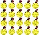 VIEAURA 星模様 金メダル ゴールドメダル 20個セット 運動会 幼稚園 保育園 お遊戯 スポーツ 賞