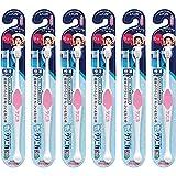 クリニカ Kid's ハブラシ 仕上げみがき用 ピンク セット 6本