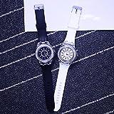 「7色にフラッシュ発光」レインボーLED腕時計 光る腕時計