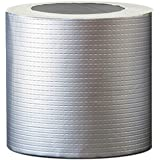 [Fan!Fan!Market] 強力 補修 ブチルテープ ひび割れ 亀裂 修理 防水 粘着 テープ シーラントテープ 片面 屋根用 配管 パイプ ベランダ 壁 コンクリート 雨漏り 水漏れ 水回り 工業 テント シルバー 融着 シール パテ 多用途
