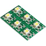 エレキット チップ部品はんだ付け練習キット 白色LED LK-ST1