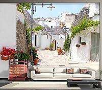 Sproud リビングルームのソファベッドルームエントランス壁画 Tv の背景の壁紙不織布壁紙美しいロマンチックな国 350 Cmx 245 Cm 大