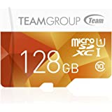 Team Micro SDHC/SDXC UHS-1 COLOR CARDシリーズ 10年保証(128GB)
