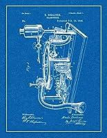 "Gramophone特許印刷with Border m11885 16"" x 20"" 11885-553-16"
