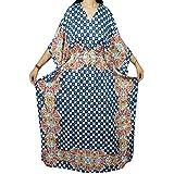 Womens Caftan Kimono Sleeves Ahhalaya Cover Up Kaftan Boho Beach Dress OS