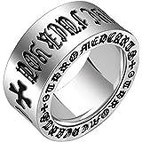 ZAKAKA 指輪 メンズ リング ファッション アクセサリー [ギフトボックスを提供] 14号 17号 19号 21号24号を提供 (24)
