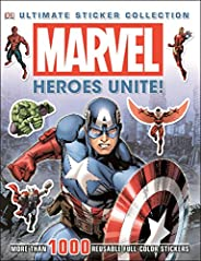 Marvel: Heroes Unite!: More Than 1,000 Reusable Full-Color Stickers