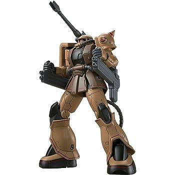 HG 機動戦士ガンダム THE ORIGIN ザク・ハーフキャノン 1/144スケール 色分け済みプラモデル
