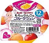 キユーピー ももとりんごのフルーツジュレ 70g×6個